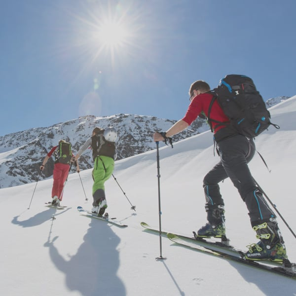 Skitouren am Arlberg
