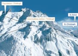 pistetopowder-guiding arlberg-freeride st.anton arlberg off piste skiing mountain guide piste to powder ski guide backcountry powder skiing