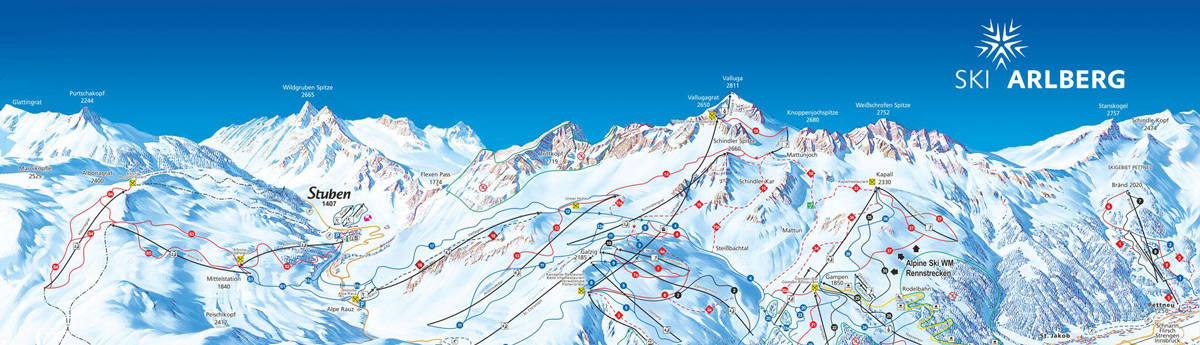 off piste skiing map stanton freeride