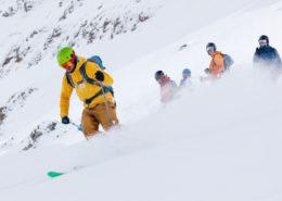 skitouring silvretta st.anton guided tour intermediate
