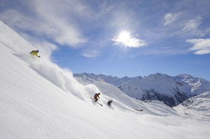 st anton off piste skiing mountain anton guides freeride