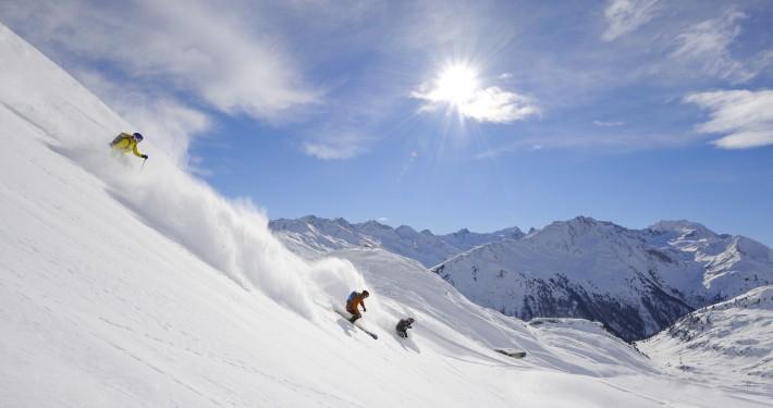 st anton off piste skiing mountain anton guides freeride