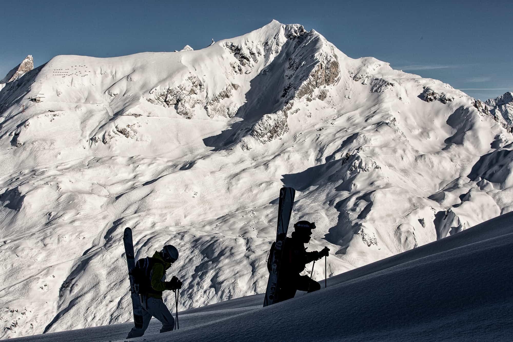 off piste guiding st anton lech zürs ski guides
