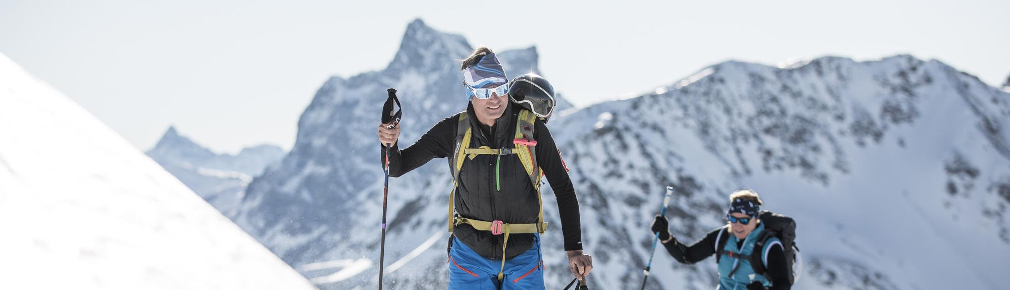 piste to powder - ski touring guiding anton lech zürs ski guides | bergführer und alpinschule st anton