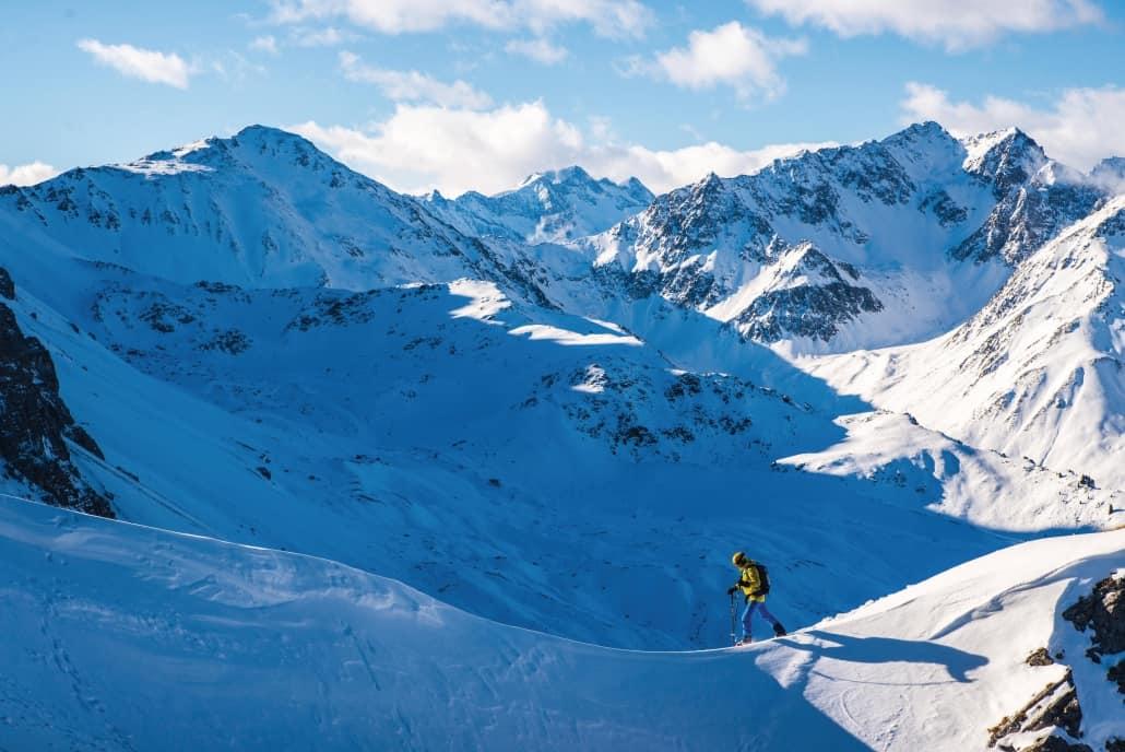 Skitourer in Stubaital