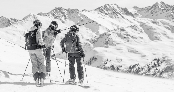 piste to powder ski guides and mountain guides arlberg - we're guiding you to the best off piste spots in st anton lech zürs