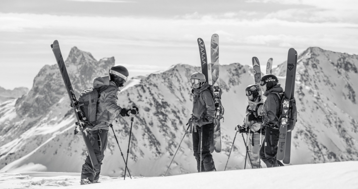 piste to powder girls off piste technique camps st anton arlberg