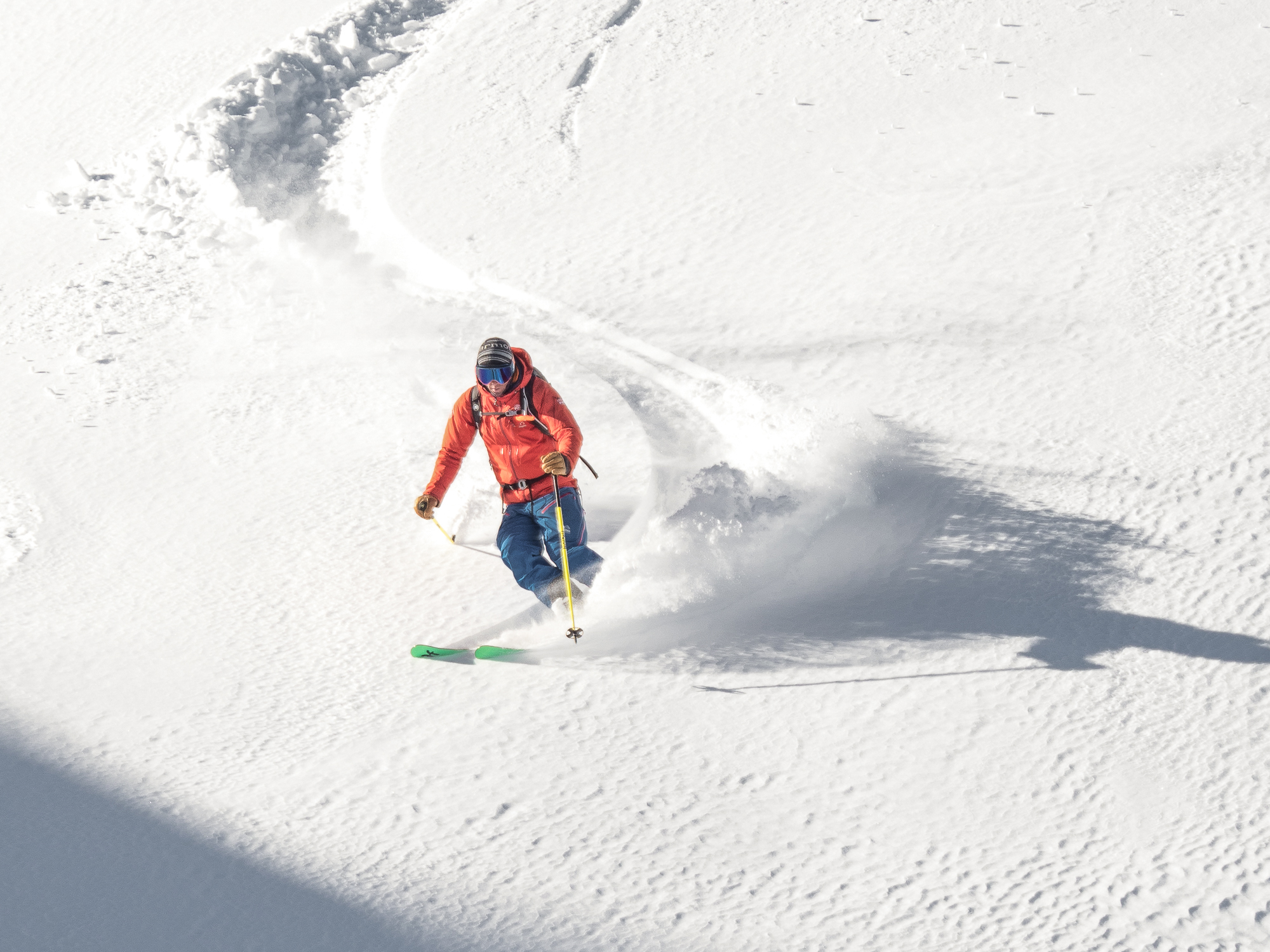 piste to powder mountain guides st anton arlberg off piste guiding | bergführer und ski guides